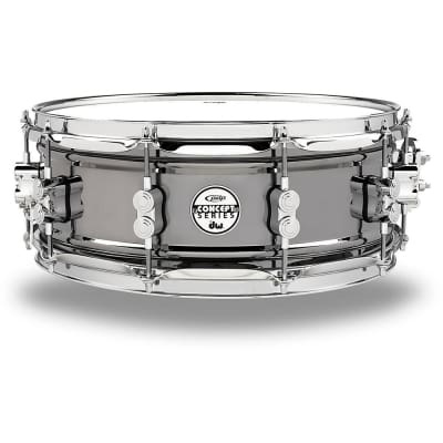 """PDP PDSN5514BNCR Pacific Drums Concept Black Nickel Over Steel Snare 5.5 x 14"""""""