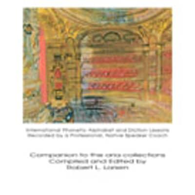 Diction Coach - G. Schirmer Opera Anthology (Arias for Soprano)