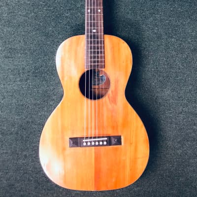 SS Stewart Parlor Guitar  1930's Natural for sale