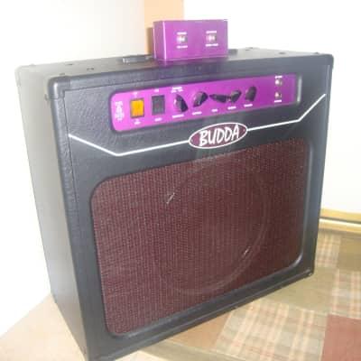 Budda Verb Master 30 Custom Built Black/Purple for sale