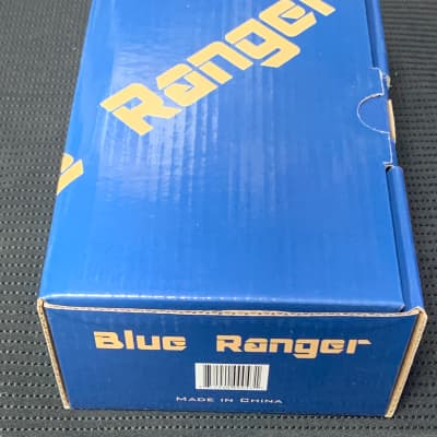 New Carl Martin Blue Ranger BR - Vintage Texas Style Overdrive Guitar Effects FX Pedal like Stevie