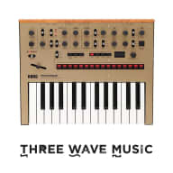 Korg Monologue Gold Monophonic Analogue Synthesizer Now in Stock!