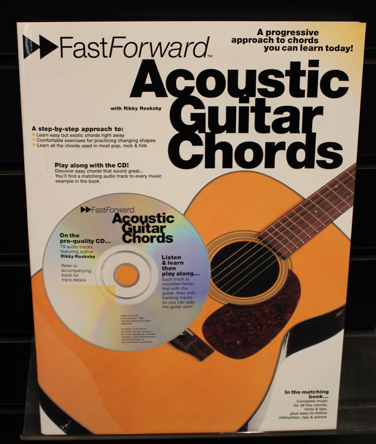 Fast Forward Acoustic Guitar Chords Guitar Method Softcover Reverb