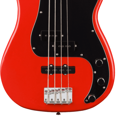Squier Affinity Series Precision PJ Bass | Race Red for sale