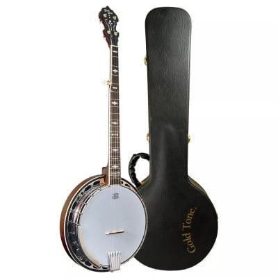 Gold Tone OB-150 Professional Resonator Bluegrass Orange Blossom Banjo w/Hard Case