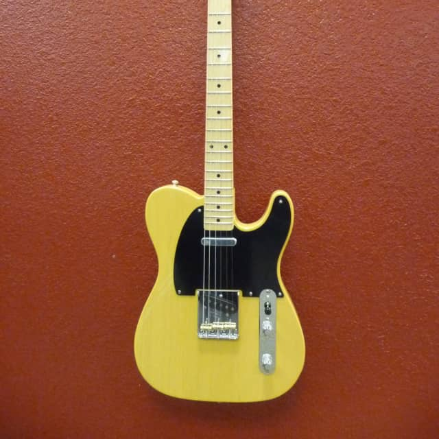 Fender American Original 50's Telecaster  Butter Scotch Blonde Finish, Maple Fingerboard image