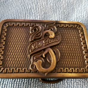 Gibson Les Paul 25/50 Belt Buckle