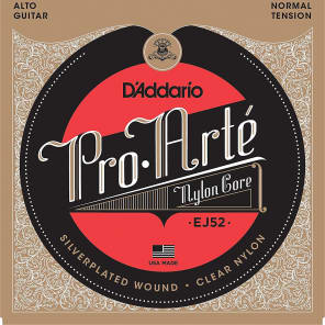 D'Addario EJ52 Pro-Arte Alto Guitar Strings Normal Tension