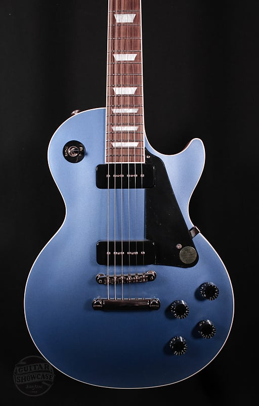 Gibson Les Paul Classic Pelham Blue Guitar Showcase Reverb