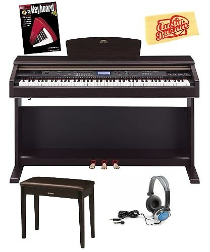 yamaha ydp v240 arius 88 key digital piano with bench