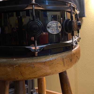 "Dw  14"" Brass snare  Black"