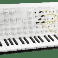 Korg Limited Edition White Monotone MS-20 Mini - Monophonic Analog Synthesizer