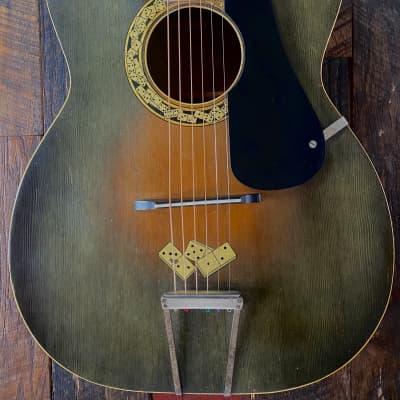 "1930s Regal Le Domino ""Big Boy"" Archtop Guitar for sale"