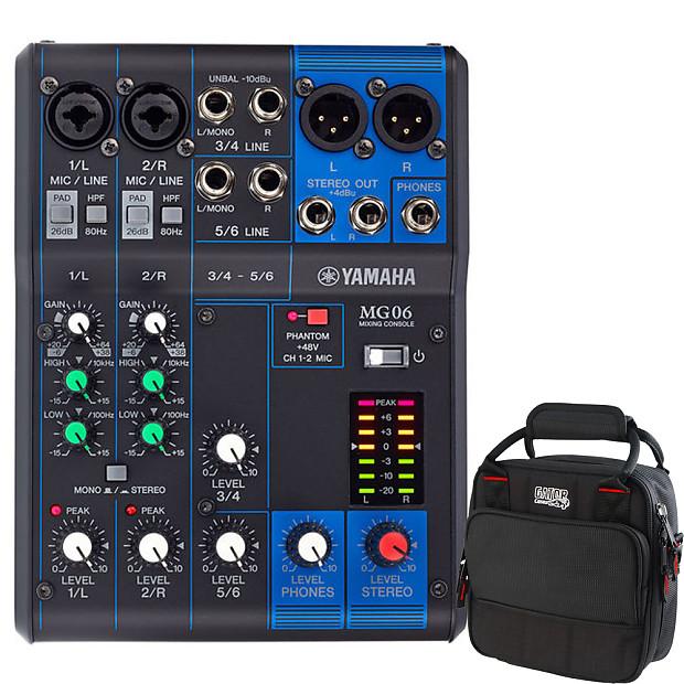 48e63e9e0e Description  Shop Policies. Yamaha MG06 6-Channel Analog Mixer