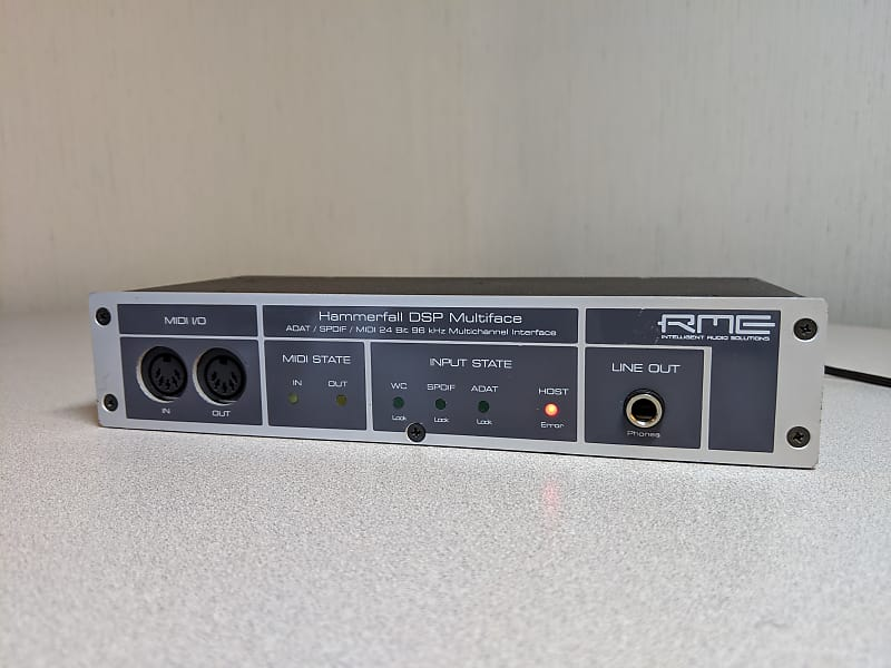 RME HAMMERFALL DSP MULTIFACE DRIVERS