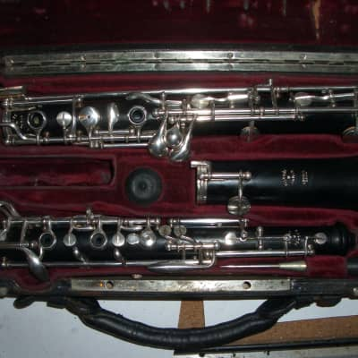 F. Loree Paris Profesional oboe 1910 Black
