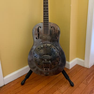 Mule Tricone Resonator 2019 Steel/weathered for sale