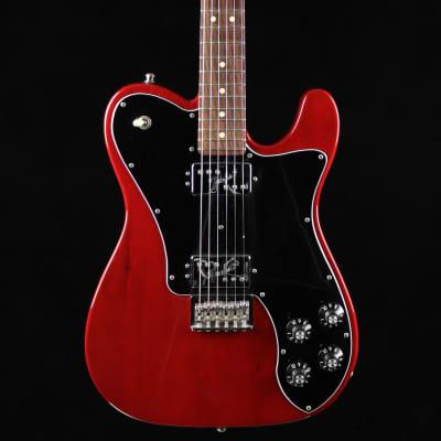 Fender Fender Limited Edition American Professional MahoganyTelecaster 2017 Transparent Red for sale