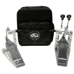 DW DWCPMDD2 Machined Direct Drive Double Bass Drum Pedal w/ Bag