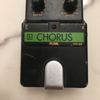 Pearl CH-02 Analog Chorus Rare Vintage Guitar Effect Pedal MIJ Japan for sale