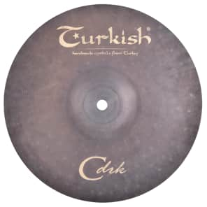 "Turkish Cymbals 10"" Classic Dark Series Classic Dark Splash CDRK-SP10"