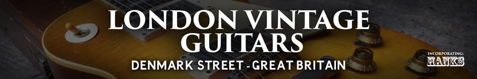 London Vintage Guitars of Denmark Street London