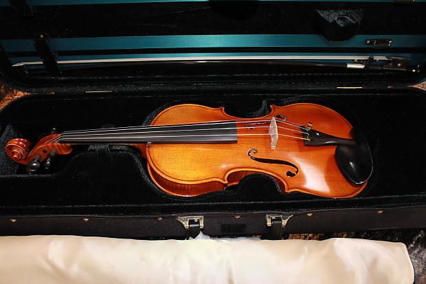 Like new violin franz sandner model #306 size 4/4 reduced   reverb.