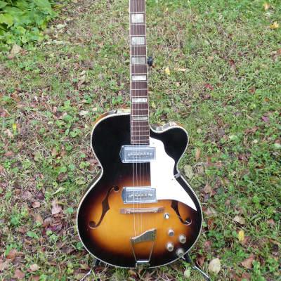 Kay  Swingmaster  kleenex pickups  sunburst for sale