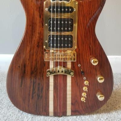 Rusch Rusch Custom Guitars - Phoenix 2020 Natural / Clear Lacquer for sale