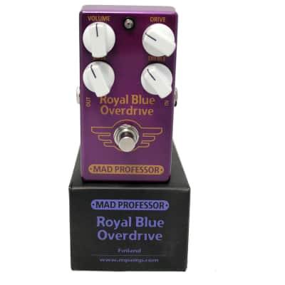 Open Box - Mad Professor Royal Blue Trans. Overdrive