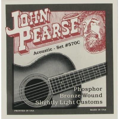 John Pearse 570C Phosphor Bronze Slightly Light 11-52