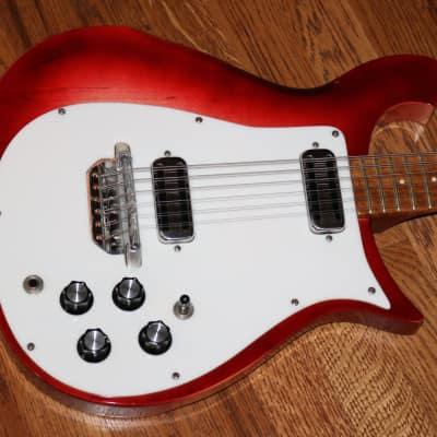 1965 Rickenbacker 450-12 Fireglo for sale