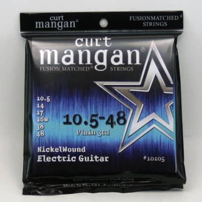 Curt Mangan Nickel Wound Electric Guitar Strings 10.5-48