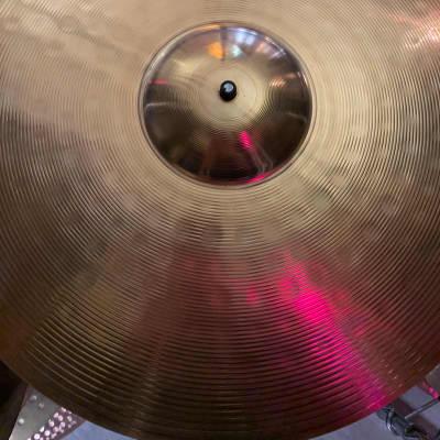 "Paiste 20"" 201 Bronze Ride Cymbal"