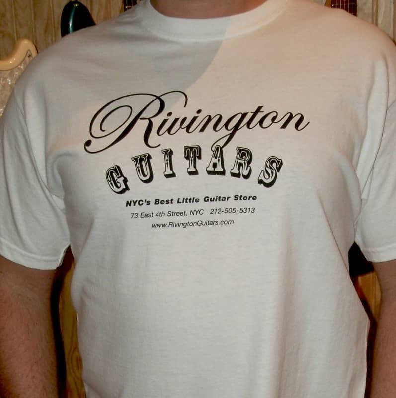 Rivington Guitars T-Shirt White (Logo Shirt)  5934d38d2f5