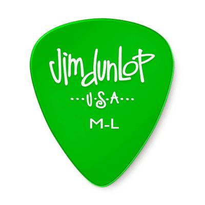 Dunlop 486RML Gels Medium Light Guitar Picks (72-Pack)