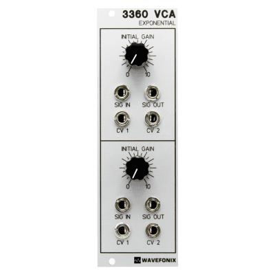 Wavefonix 3360 Dual Exponential VCA
