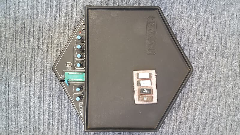 Simmons sds-1 electronic pad Sds1 80's Black