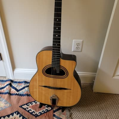 Gypsy Jazz Paris Swing GG42 2017 Natural w/ a Hardshell case for sale