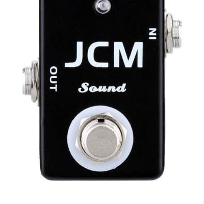 MOSKY JCM Sound Simulator MINI Pedal Marshall JCM Amp Style Guitar Effect MICRO Pedal image