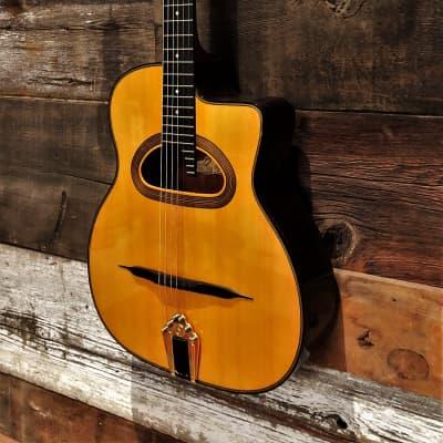 Saga D-500 Gitane Gypsy Jazz guitar for sale