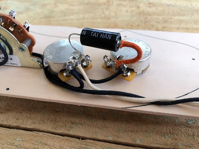 Fender    Telecaster     69    Telecaster       Thinline       Wiring    Harness