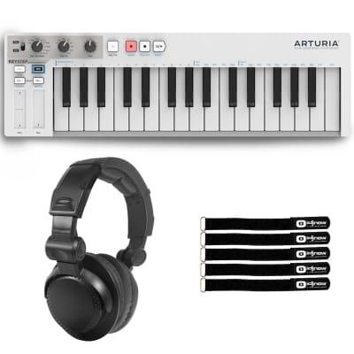 Arturia Keystep 32-Key Slim Keyboard w/ Polyphonic Step Sequencing + Headphones