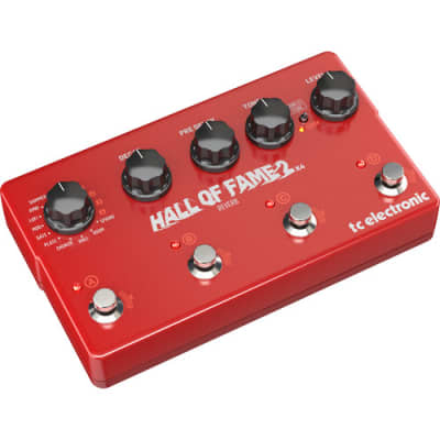 TC Electronic Acclaimed Reverb Pedal Expanded w/ 4 MASH Switches, Shimmer Reverb & 8 Reverb Pres