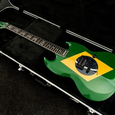 ESP LTD MC-600 Brazilian Green Max Cavalera - EXCELLENT condition + CASE - Sepultura/Soulfly vibe! for sale