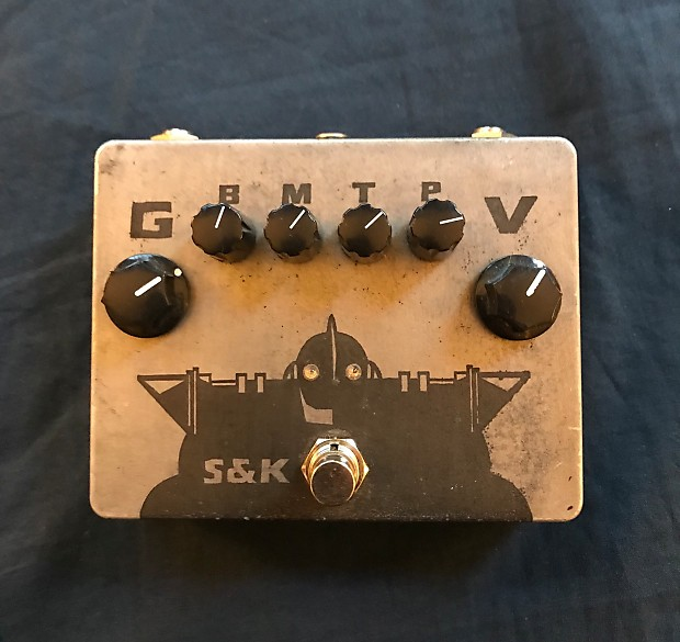 S & K Pedals Iron Giant Distortion/OD (Marshall in a Box) 2017