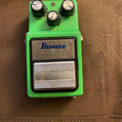 Ibanez TS9 Tube Screamer with Analogman Mod Green for sale