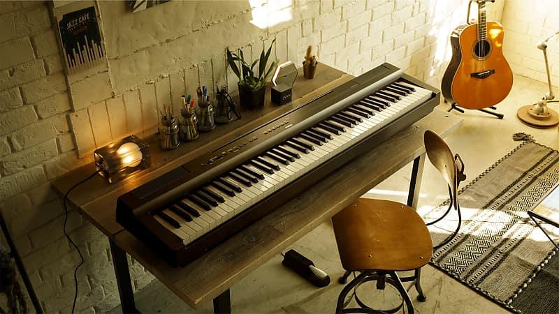 yamaha p 125b digital piano 2018 black reverb. Black Bedroom Furniture Sets. Home Design Ideas