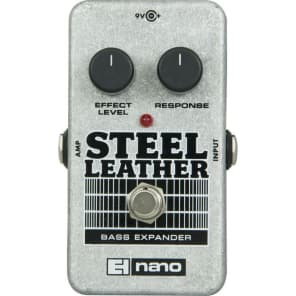 Electro-Harmonix Nano Steel Leather Bass Expander for sale