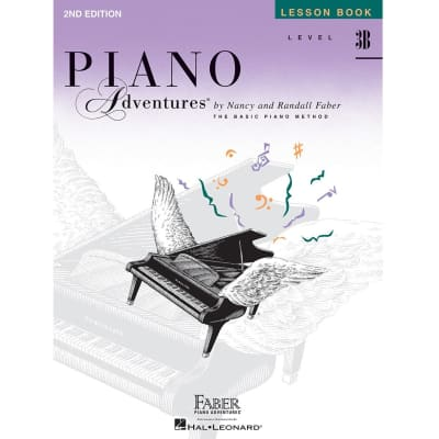 Piano Adventures: A Basic Piano Method - Lesson Book Level 3B